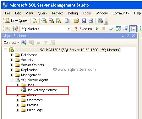 job activity monitor - Checking On Status Of Job Application